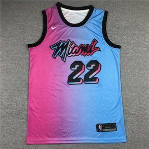 Miami Heat #22 Jimmy Butler City Gradient Jersey